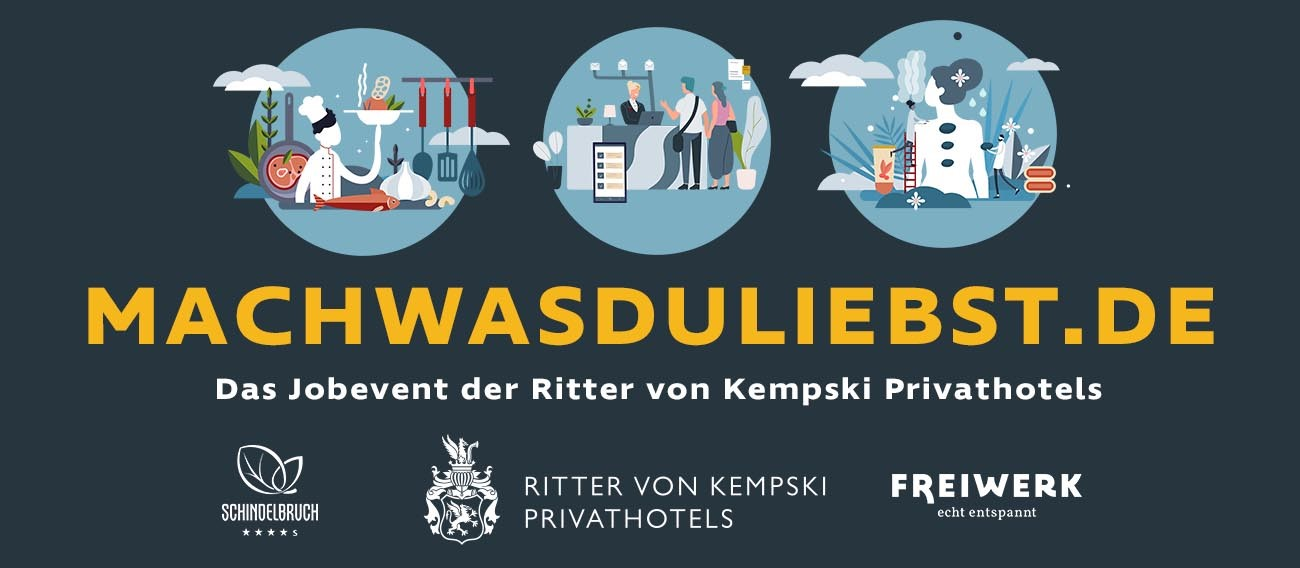 Ritter von Kempski Privathotels Recruiting Days